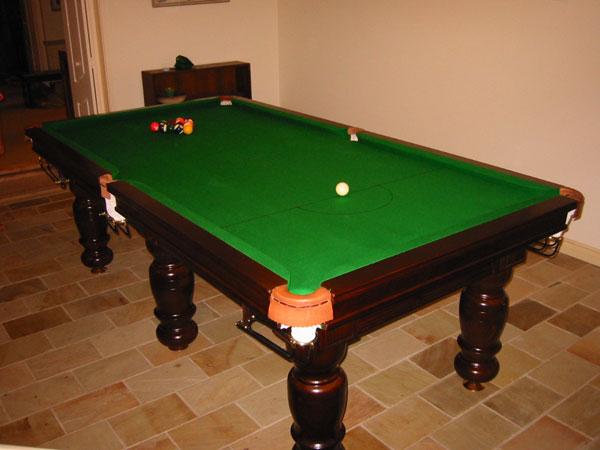 Classic Billiard Tables Thompson Billiard Tables - Classic billiard table