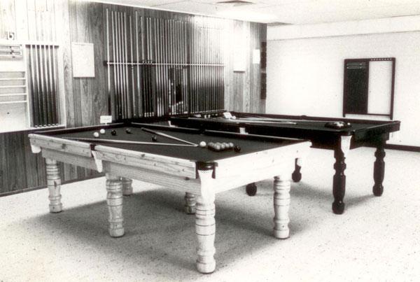 The Old School Billiard Tables Thompson Billiard Tables - Old school pool table